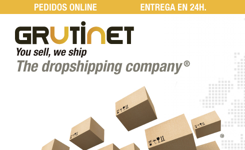 Grutinet, The Dropshipping Company. Pedidos Online.